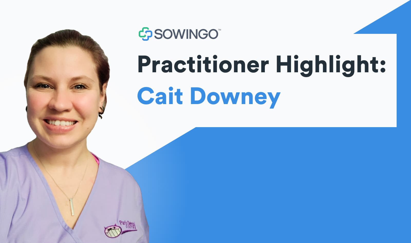 Practitioner highlight Cait Downer interview with profile image