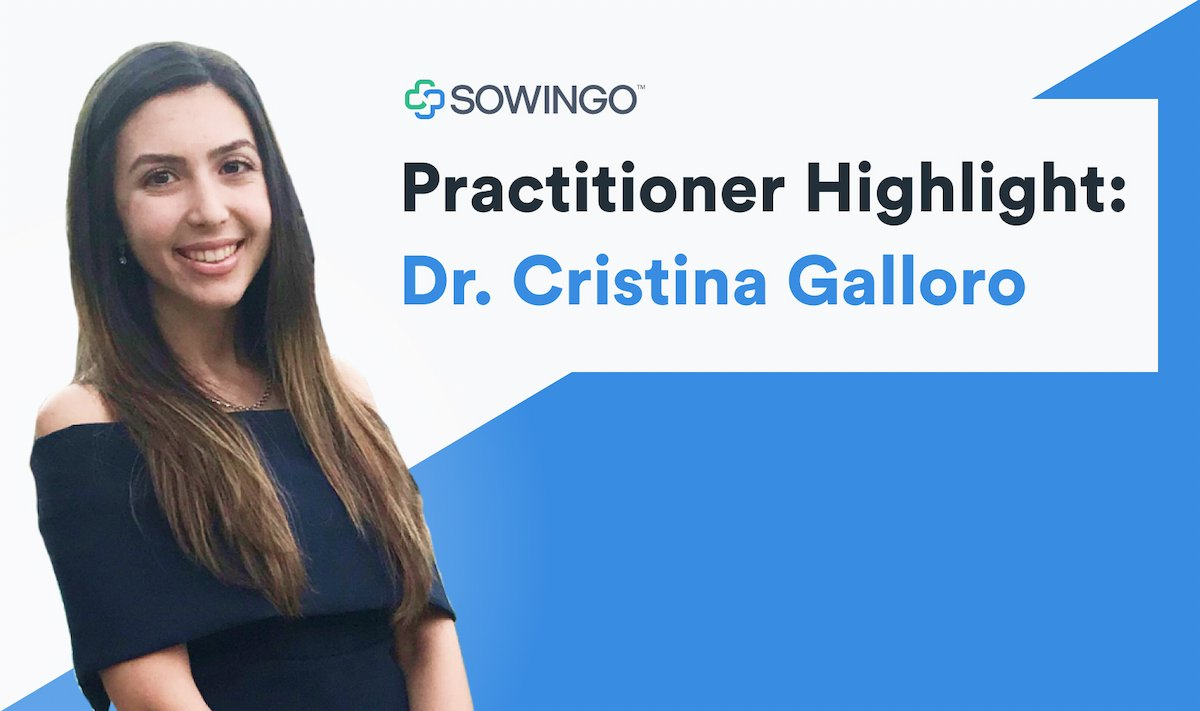 Dr. Cristina Galloro profile image for our practitioner highlight