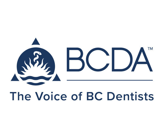 BCDA logo the voice of BC dentists